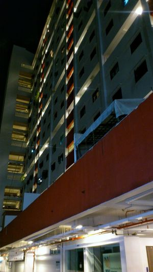 Singapore- Sago Lane housing estate Snapseed Architecture Built Structure Building Exterior Nightshot Nightlights Landmark Residential Building Smartphonephotography Architecturephotography Sonyxperiaphotography Mobilephotographyph Nightphotography