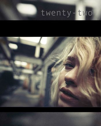 Twentytwo Poster Young Woman Portrait Of A Woman Human Condition Cinematic Inspire Eye4photography  EyeEm Best Shots Capture The Moment ExpressYourself EyeEm Best Edits Magazine Dynamic Capturing Movement Portrait Woman Portrait Style Freedom