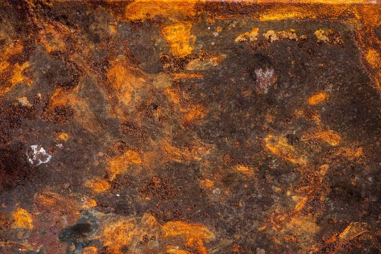 rust Backgrounds Pattern Textured  Abstract Full Frame Close-up No People Orange Color Brown Weathered Old Copy Space Black Color Nature Dirt Rusty Abstract Backgrounds Rough Extreme Close-up Dirty