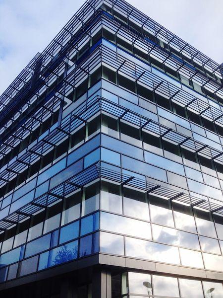 Bristol Building Modern Architecture Taking Photos Blue
