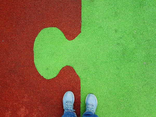 Feet On The Ground Ground Ground View PuzzlePieces Standing Personal Perspective Simplicity From My Point Of View Perspective Check This Out Smartphonephotography 3XSPUnity IMography Samsung Galaxy S7 Edge GalaxyS7Edge Hello World EyeEm Gallery Red&green Backgrounds