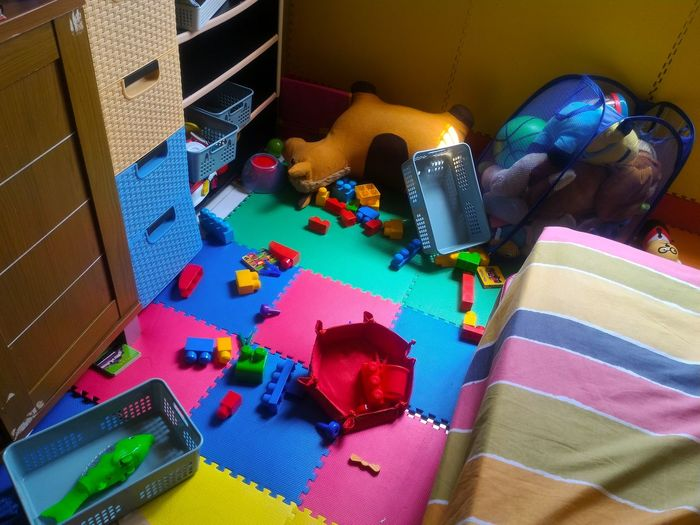 Cluttered kids