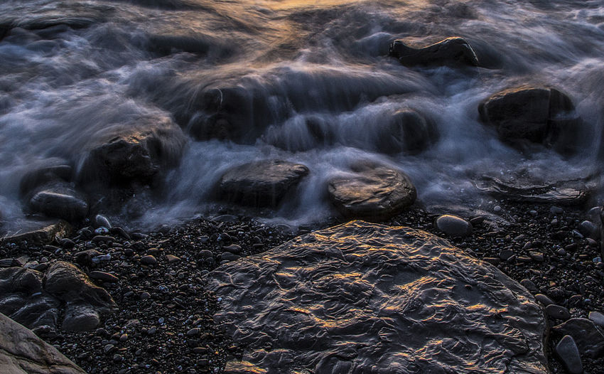 Barrika Beach Long exposure Long Exposure Shot Rock Texture And Surfaces Beach Beauty In Nature Blurred Motion Day Larga Exposicion Long Exposure Motion Nature No People Outdoors Pebble Rock Texture Surface Level Water Wave Be. Ready. Capture Tomorrow