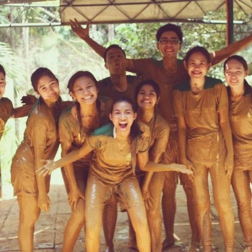 LAmb 2k13 team building!!! Imiss Throwback MUDness