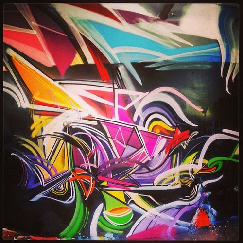 Mastrocola Spraypaint Abstract Colorlove colorize montreal