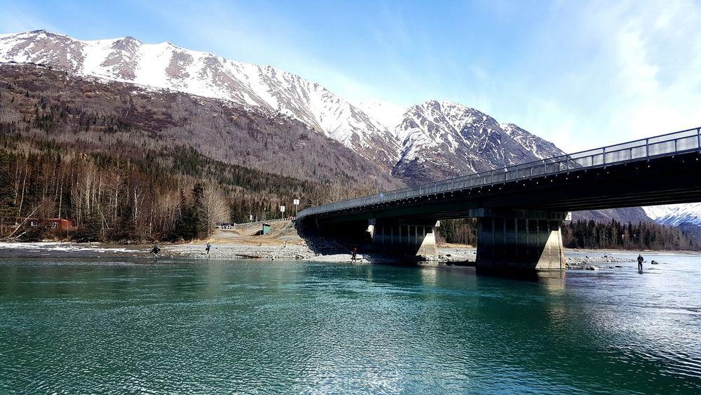 KenaiRiver Outdoors Alaska Alaska Life Bridge - Man Made Structure Blessed:)
