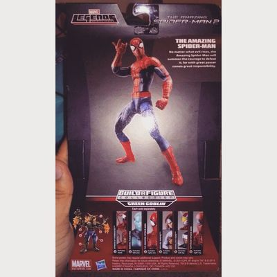 Oh god all this sexiness in one package time to take ah zillion pictures Hyperventilating Amazingspiderman Marvel Marvellengends Figurecollecting Figures Geekingout SuperExcited Sexiness