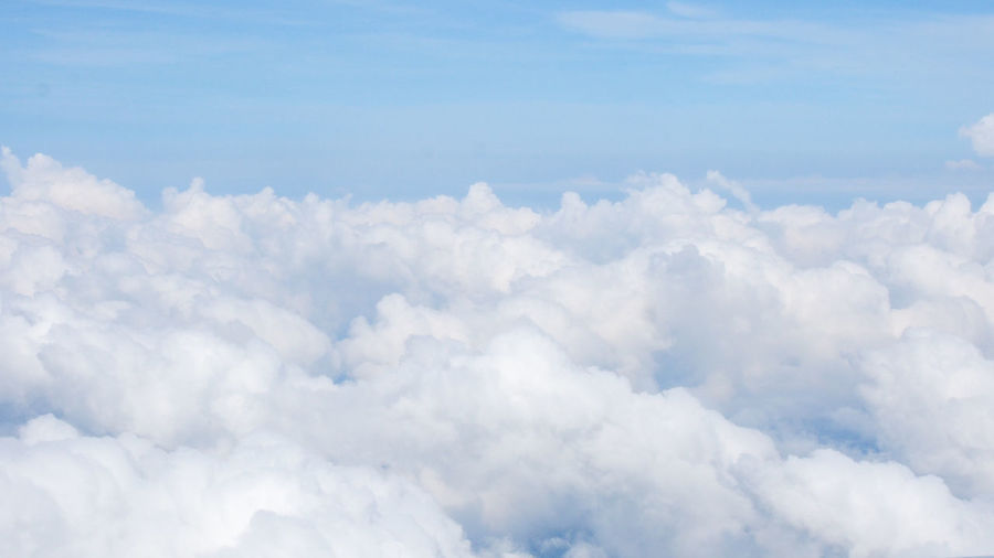 Cloud floor Cloudscape Freedom Freshness Heaven Nature Wonderful Atmosphere Backgrounds Beauty In Nature Beauty In Nature Blue Blue Sky Cerulean Cloud - Sky Clouds And Sky Cloudscape Fluffy Paradise Scenics Scenics - Nature Sky Softness White White Color