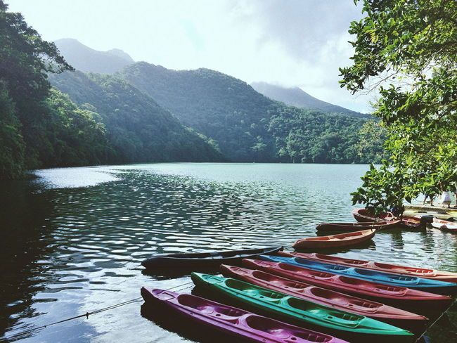 Once upon a time in Bulusan Lake Outdoors Lake Scenics Beauty In Nature Sky TheGreatOutdoors Nature Lifestyles VSCO Landscape Life Travel Destinations Traveling Mountain Water Nature_collection
