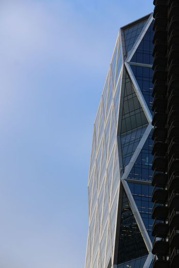 Architecture Building Exterior Built Structure Low Angle View Clear Sky City Modern Day No People Skyscraper Sky Office Block No Edit/no Filter Canonphotography Traveling EyeEm Window Throughmyeyes Winter
