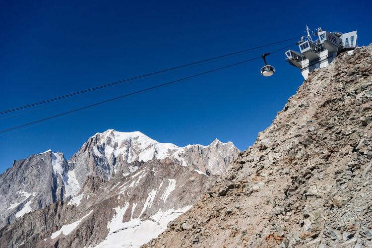 Skyway mont blanc, itay