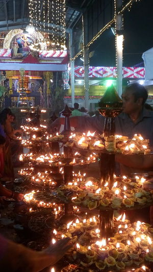 Learn & Shoot: After Dark Lamp Of Lemon Temple Custom mobile photos lenovo Indian Temple Festival Light Of Knowledge Attukal Temple light of prosperity