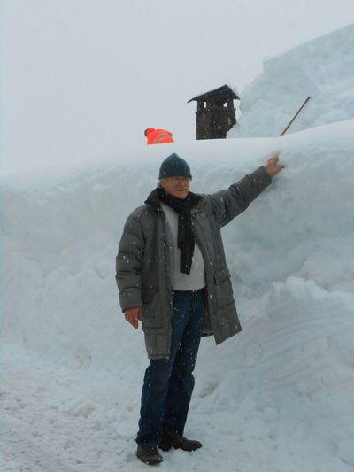 Me in winter Sauris