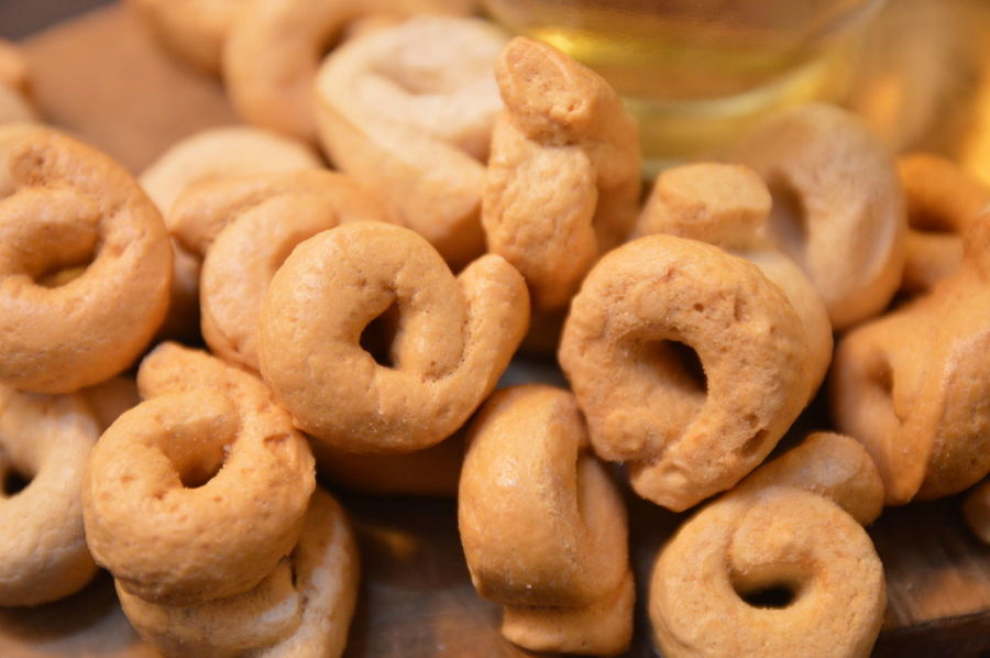 italian snack rustic.tarallucci whit oil Food Food And Drink Sweet Food Cookie No People Homemade Snack Close-up Bakery Ready-to-eat Freshness