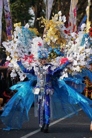 Flowery costume