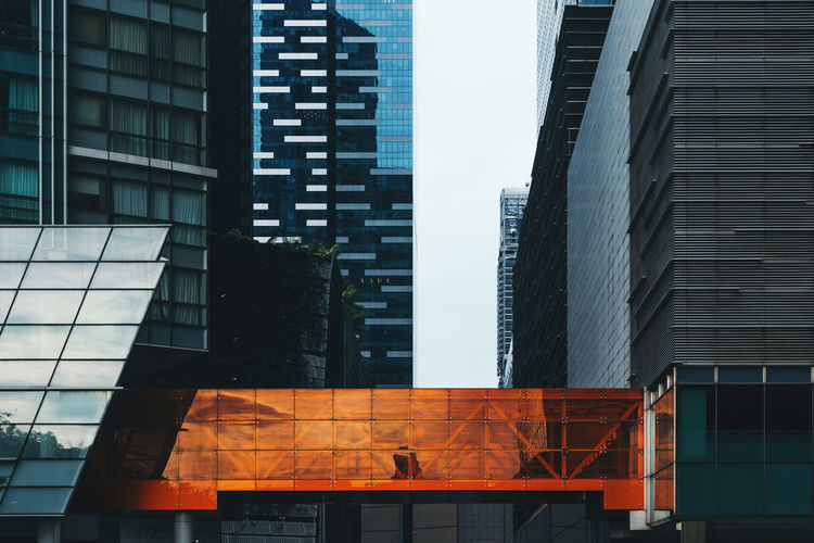 Orange Downtown Modern Architecture Orange Singapore Architecture Building Building Exterior Built Structure City City Background City Life Financial District  Glass Glass - Material Modern Modern Background Modern Building Modern City Office Office Building Exterior Orange Color Residential District Skyscraper Wall - Building Feature