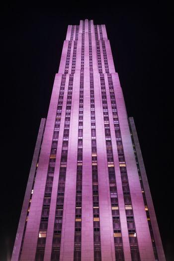 Architecture Building City New York New York City Night Rockefeller Center Skyscraper Times Square NYC TimesSquare Urban