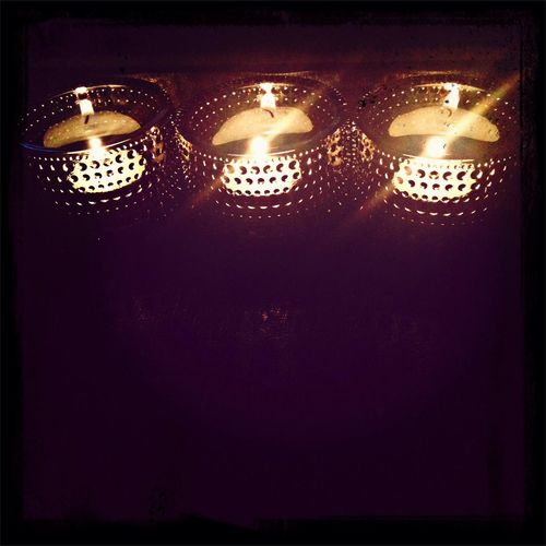 gorgeous tea-light holders Relaxing