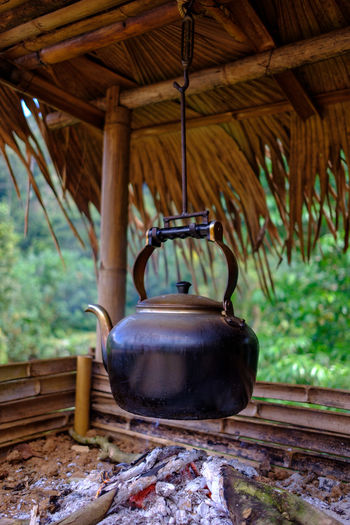 Coffee pot over