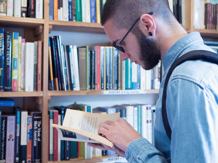 Reading Books Library