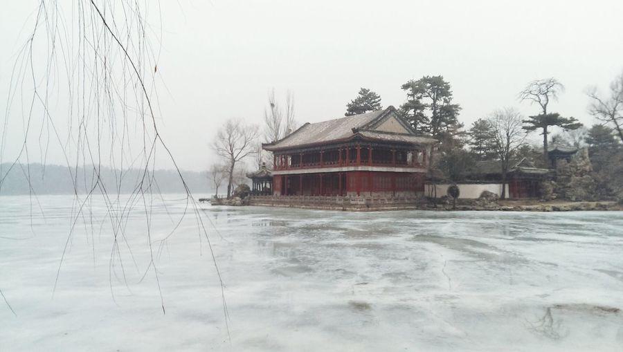 Landscape Snow Monotone