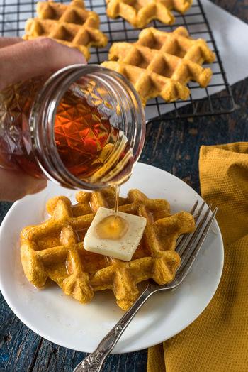 Close-Up Of Jar Of Honey