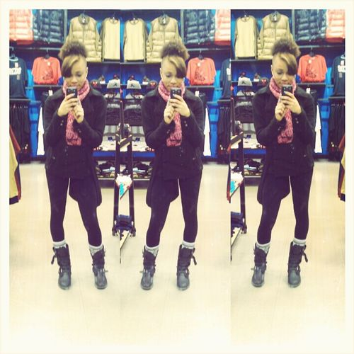 today at le mall !