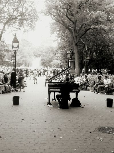 Greenwich Park Manhattan New York City Music <3 Musicphotography NYC Photography People Passion Real People