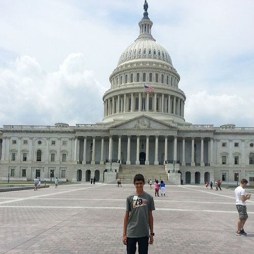 Me Today At The congress of USA in washington DC