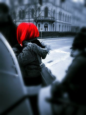 The Little Red Something Color Splash Red Hair Graz