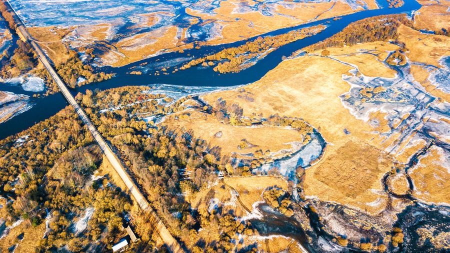 Full frame shot of land