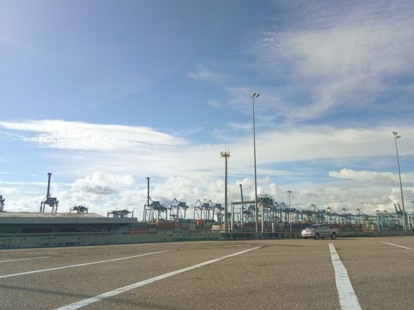 Cloud - Sky Sky Containers Containership Port