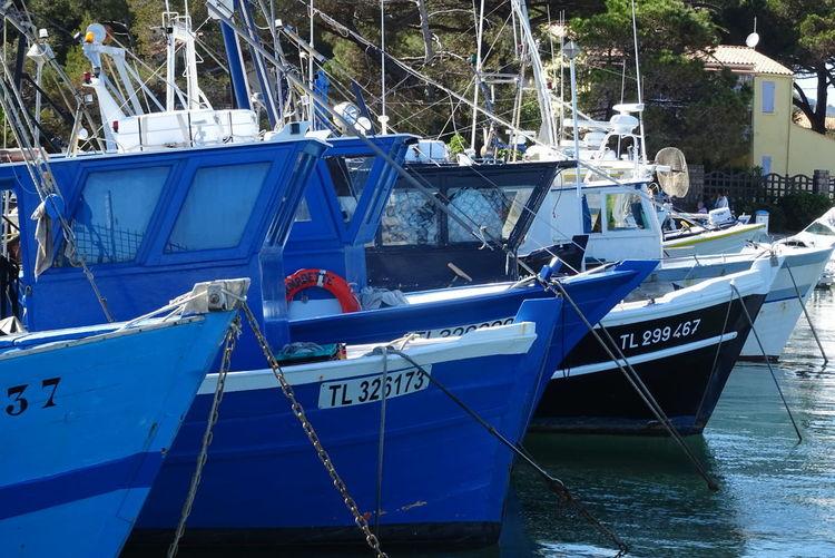 Port Peche Mer Pêcheur Sky Reflection Bateau ❤️ Pêcheur 👣🐟 Water Sea Clear Sky Blue