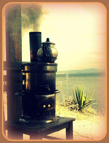 Sahilden Huzurvesonsuzluk Semaverkeyfi Semaver Candır çay Candır :) sahil kasabasında aşkın semaveri yanıyor...