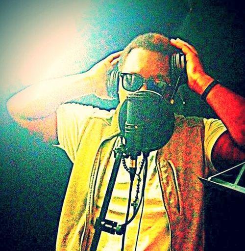 Old Pic  In The Studio Making Tracks