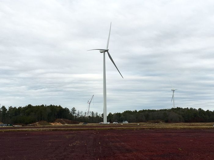 Shooting photos/videos for ConEdison of wind turbine construction. Http://www.capecodphoto.net Wind Wind Power Buzzardsbay