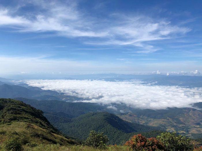 Cloud sea at