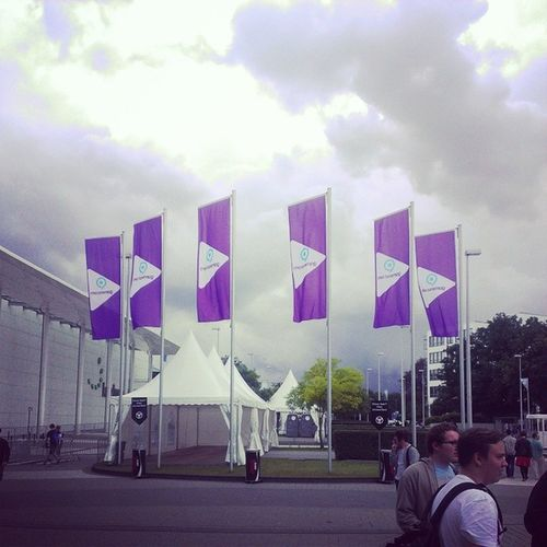 Es ist vorbei, 3 tage Messe.... Es war anstrengend aber geil. Gamescom2014 Gc2014 Gamescom Landscape