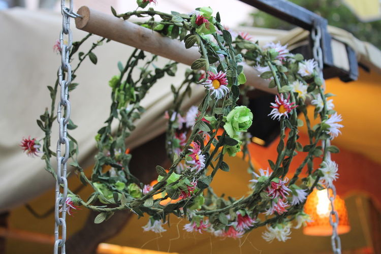 Low Angle View Of Headband Hanging For Sale