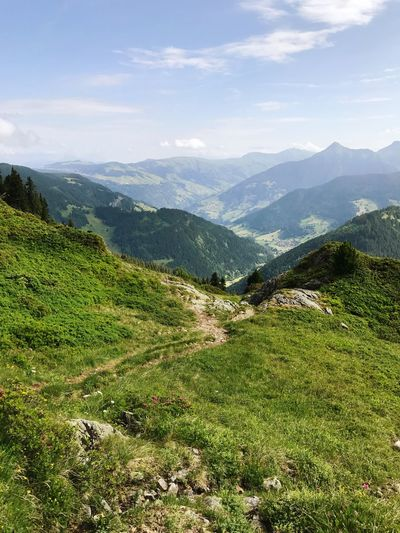France Alps Mountain Nature Beauty In Nature Landscape Grass Mountain Range Scenics Tranquility Tranquil Scene Day Outdoors Winding Road No People