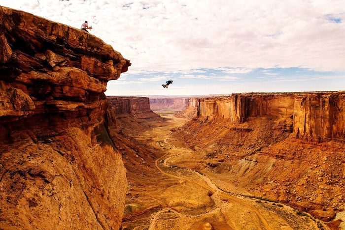 Open Edit Basejump Jump Adventure Enjoying Life Shootermag EyeEm Best Shots Check This Out in Moab  , Utah