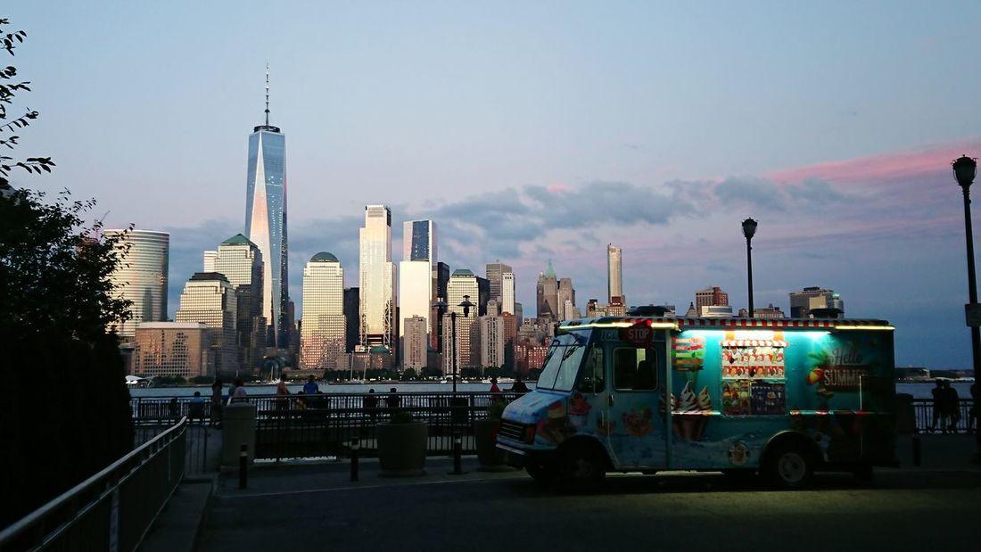 Manhattan Skyline Jersey City New York City Xperiaphotography Xperiaxzpremium No Filter