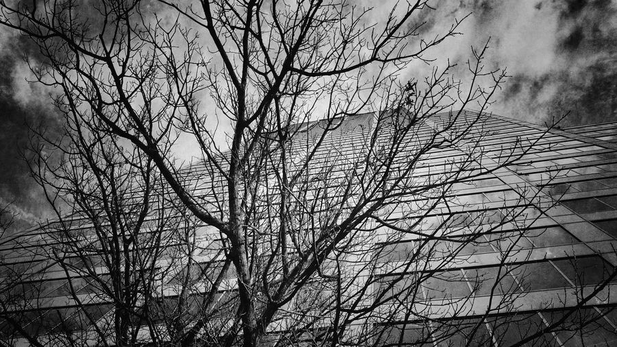 On my way to work... Extreme AnglesArchitecture Black And White Photography