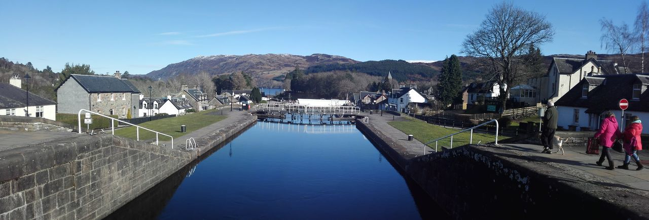Fort Augustus on Loch Ness Water Outdoors Caledonian Canal Lock