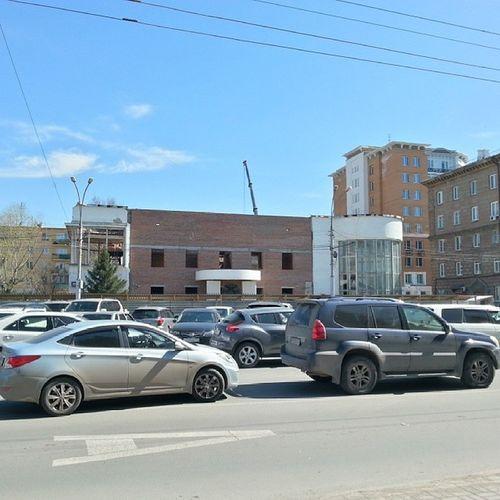2014 -04-25, Новосибирск . ДворецБракосочетания . реконструкция / Novosibirsk. Reconstruction of the Wedding Palace.