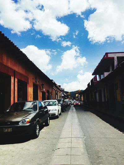 mexico Car Street Building Exterior City Sky Cloud - Sky Road Architecture Outdoors No People Cityscape Day
