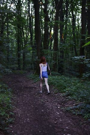 Woods Nature Exploring Exploring Nature Exploring Woods Outfit Casual Clothing Walking Tress Back Tattoo The Week On Eyem
