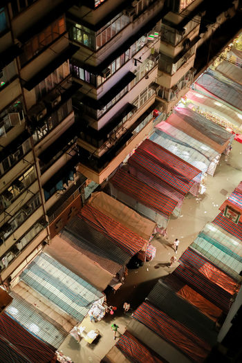Hong Kong Aerial View Architecture Building Building Exterior Built Structure Ceiling Day Large Group Of Objects Low Angle View Multi Colored Nature No People Outdoors Place Of Worship Stack Tilt Transportation Urban Landscape The Architect - 2018 EyeEm Awards