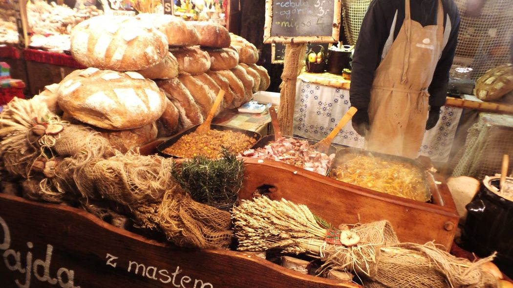 Bread Street Market Food Booth Christmas Market Krakow Christmas Market