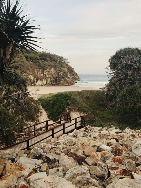 Landscape Sky Sea Nature Tranquility Beach Cliff Water No People Outdoors Afternoon First Eyeem Photo North Stradbroke Island Straddie